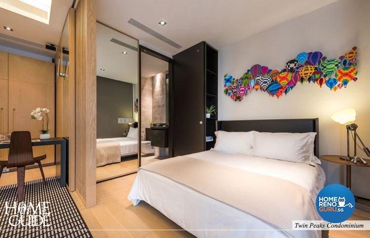 Contemporary, Minimalist Design - Bedroom - Condominium - Design by Home Guide Design & Contracts Pte Ltd