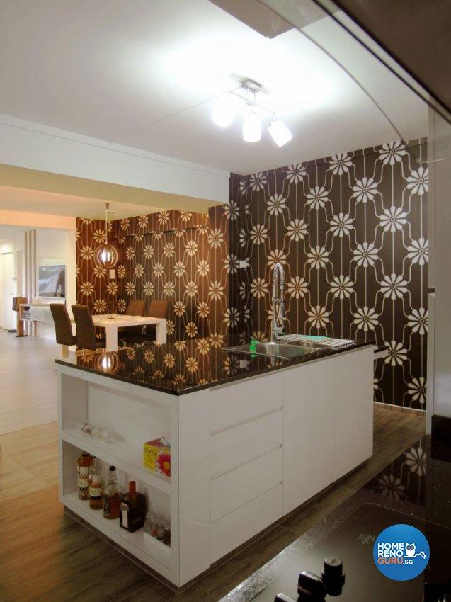 Modern, Tropical Design - Kitchen - Condominium - Design by Home Reno Pte Ltd