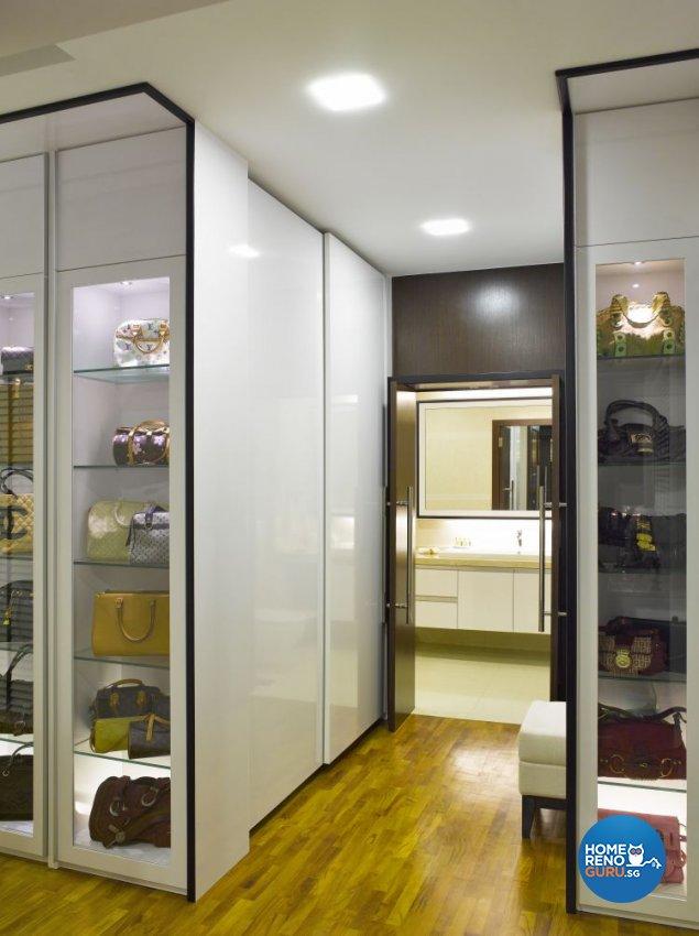 Contemporary, Modern Design - Bedroom - Landed House - Design by Home Studio Design Pte Ltd
