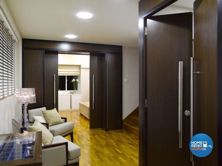 Contemporary, Modern Design - Entertainment Room - Landed House - Design by Home Studio Design Pte Ltd