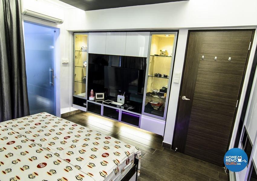 Modern, Retro Design - Bedroom - HDB 3 Room - Design by Homemaker I.D.