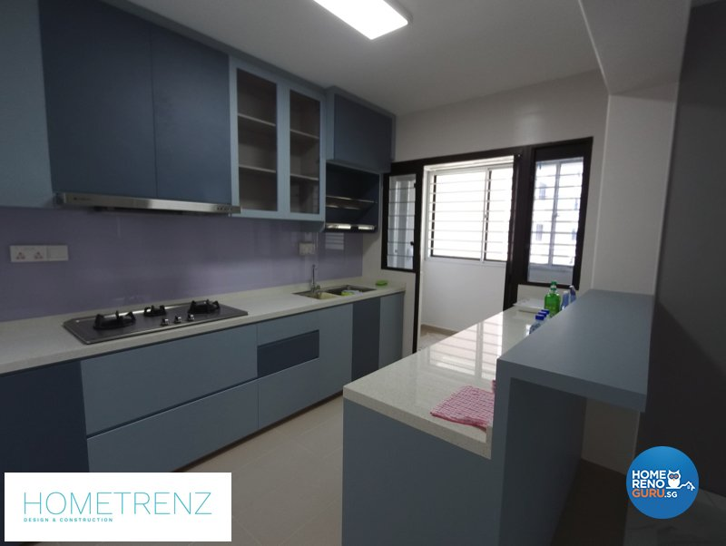 Eclectic, Others Design - Kitchen - HDB 4 Room - Design by Hometrenz Design & Construction