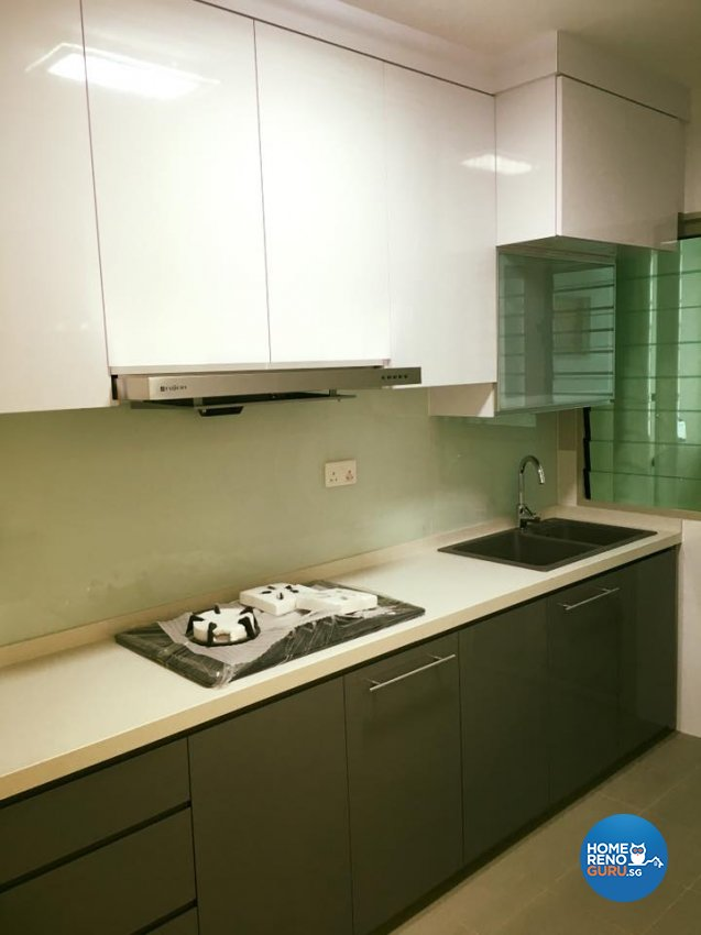 4 Room Hdb Design: Hometrenz Design Construction Hdb 4 Room Compassvale Mast