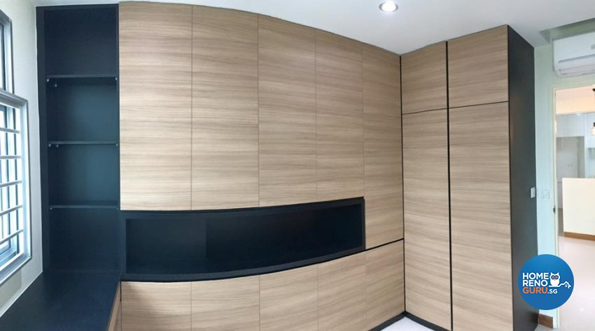 Minimalist, Scandinavian, Tropical Design - Study Room - HDB 4 Room - Design by Hometrenz Design & Construction