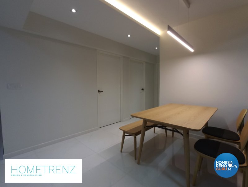 Eclectic, Minimalist, Scandinavian Design - Dining Room - HDB 5 Room - Design by Hometrenz Design & Construction