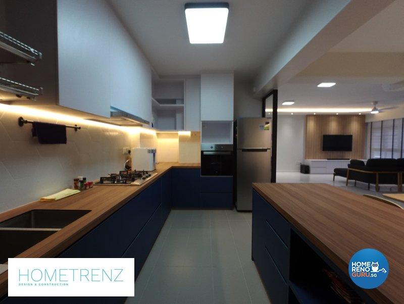 Eclectic, Minimalist, Scandinavian Design - Kitchen - HDB 5 Room - Design by Hometrenz Design & Construction