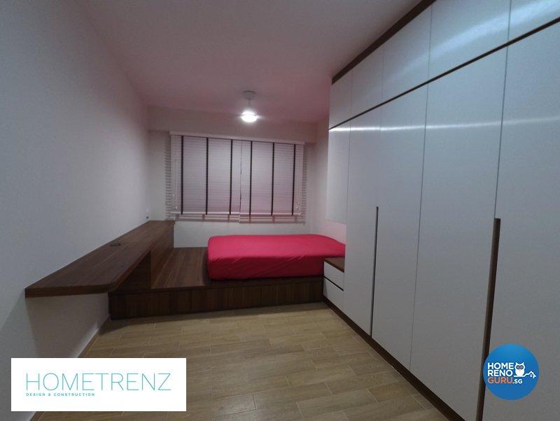 Eclectic, Minimalist, Scandinavian Design - Bedroom - HDB 5 Room - Design by Hometrenz Design & Construction