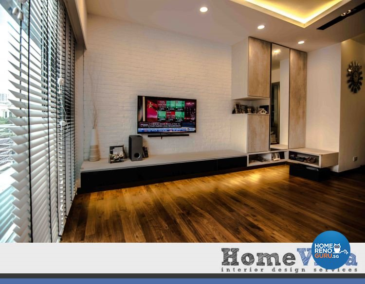 Contemporary, Modern Design - Living Room - Condominium - Design by Amterior Pte Ltd