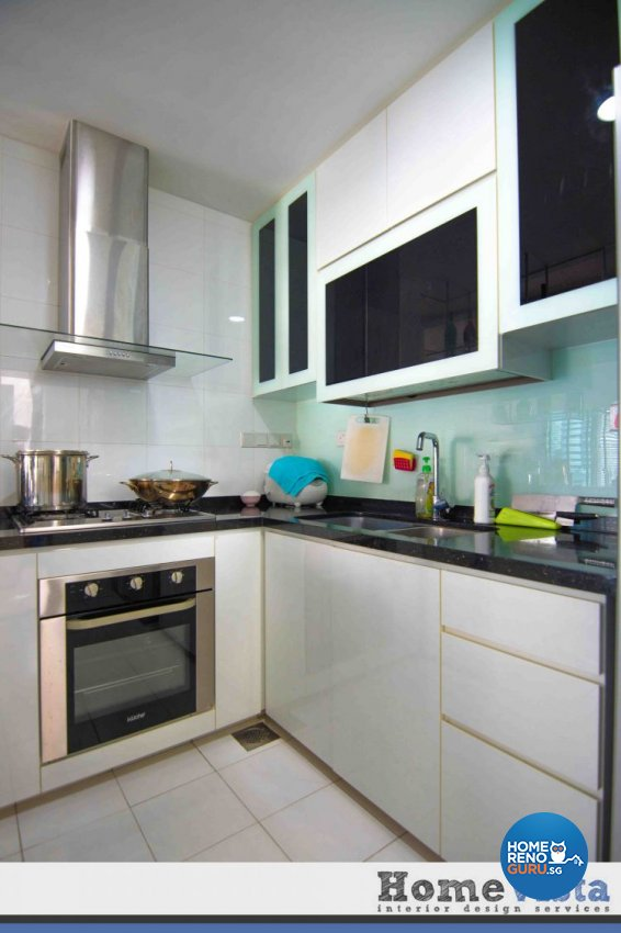 Contemporary, Modern Design - Kitchen - Condominium - Design by Amterior Pte Ltd