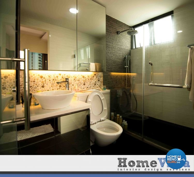Contemporary, Modern Design - Bathroom - Condominium - Design by Amterior Pte Ltd