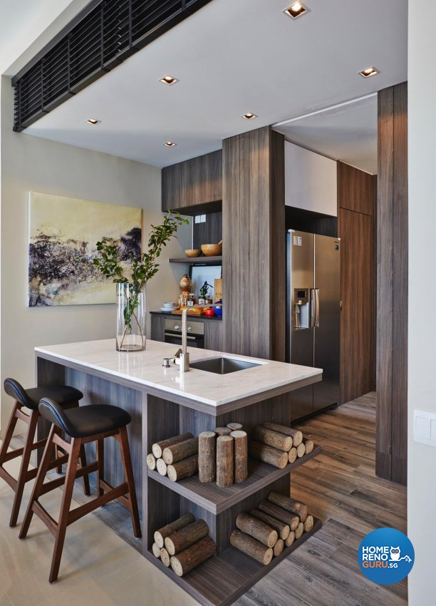 Bdg Style Idaho Project Kitchen: Honeycomb Design Studio Executive Penthouse 4 Bedroom Tampines Central 7 6078