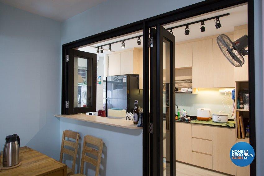 Contemporary, Modern, Scandinavian Design - Dining Room - HDB 4 Room - Design by How 2 Design Pte Ltd