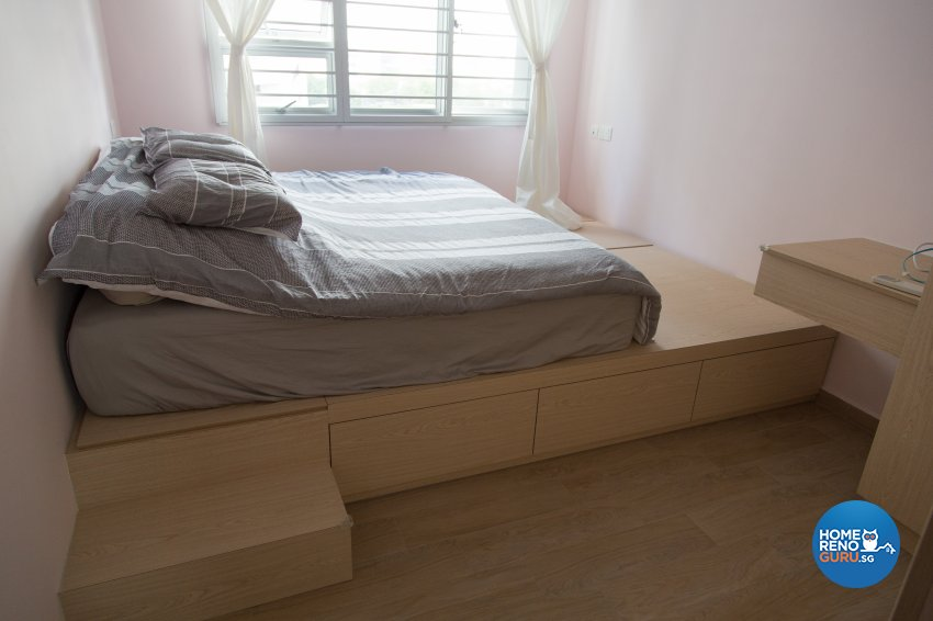 Contemporary, Modern, Scandinavian Design - Bedroom - HDB 4 Room - Design by How 2 Design Pte Ltd