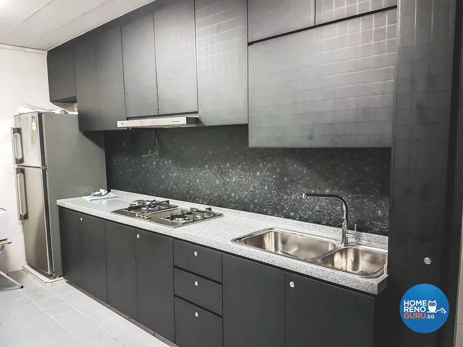 How 2 Design Pte Ltd Kitchen Cabinet Yishun 3771 Singapore Interior Design Gallery Homerenoguru