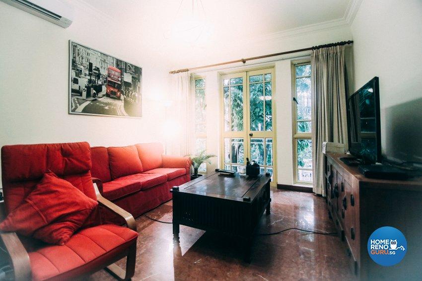 Modern Design - Living Room - Condominium - Design by How 2 Design Pte Ltd
