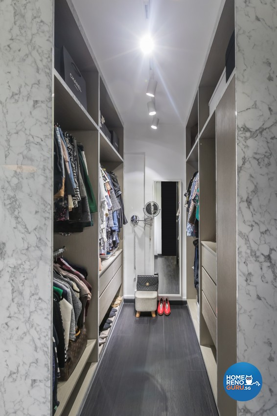 Modern Design - Bedroom - HDB 3 Room - Design by Hue Concept Interior Design Pte Ltd