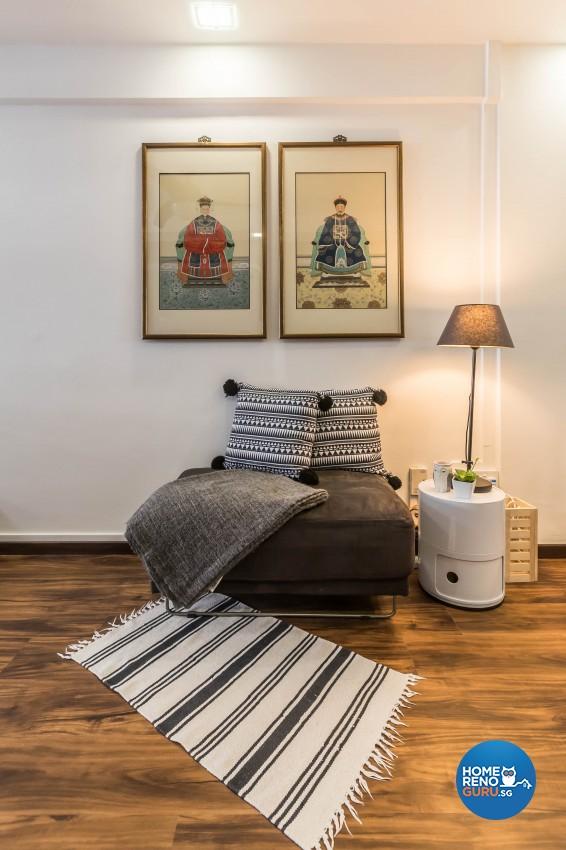 Modern Design - Living Room - HDB 3 Room - Design by Hue Concept Interior Design Pte Ltd