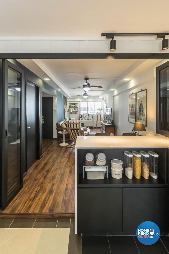 Modern Design - Dining Room - HDB 3 Room - Design by Hue Concept Interior Design Pte Ltd
