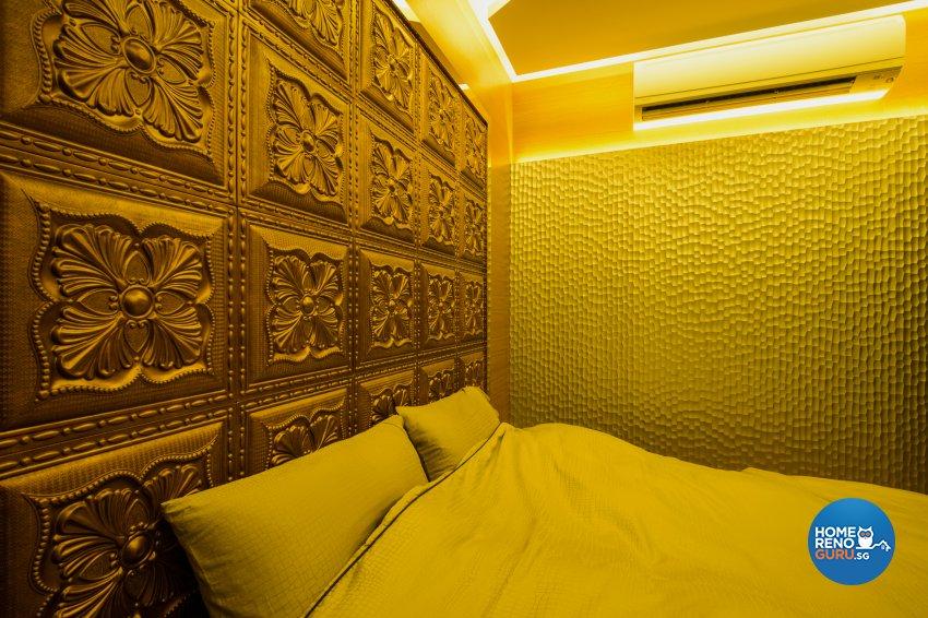 Contemporary, Eclectic, Modern Design - Bedroom - Condominium - Design by Hue Concept Interior Design Pte Ltd