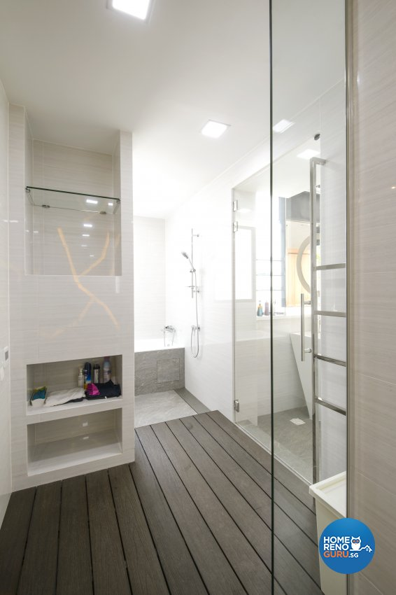 Contemporary, Eclectic, Modern Design - Bathroom - Condominium - Design by Hue Concept Interior Design Pte Ltd