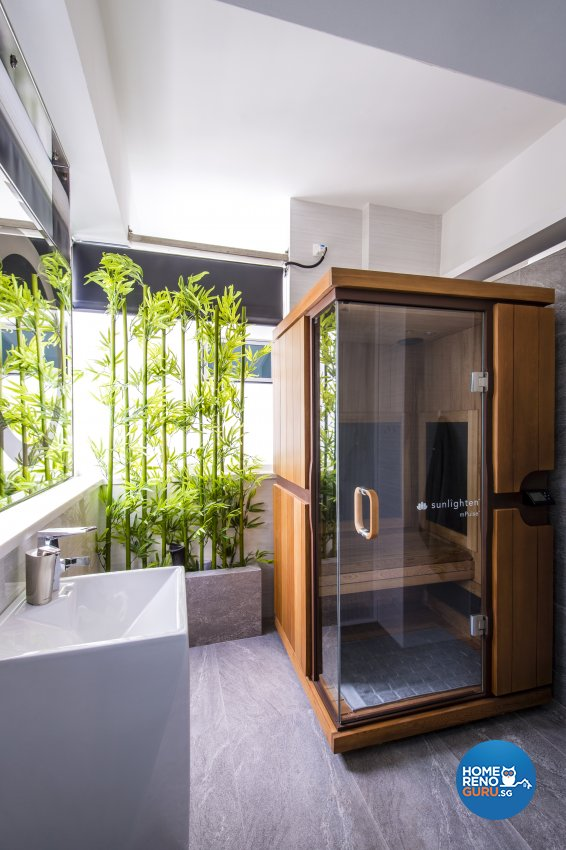 Contemporary, Eclectic, Modern Design - Bathroom - Condominium - Design by Hue Concept Interior Design Pte Ltd