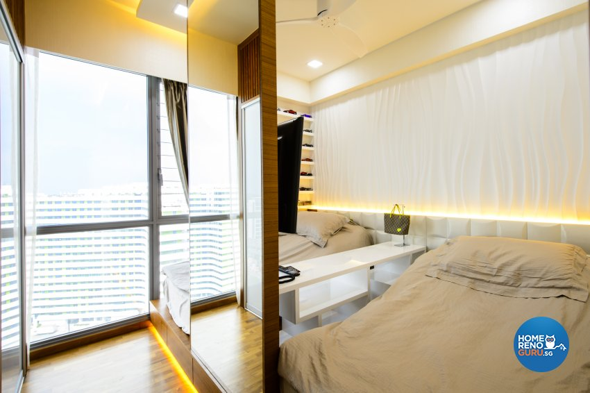 Contemporary, Eclectic, Modern Design - Bedroom - Condominium - Design by Hue Concept Interior Design Pte Ltd