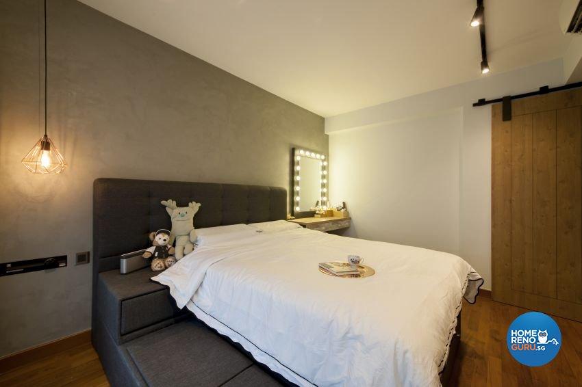HDB 4-Room - 676D Punggol by Hue Concept Interior Design Pte Ltd