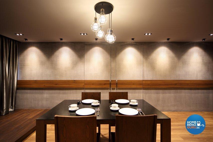 Contemporary, Modern Design - Dining Room - HDB 5 Room - Design by Hue Concept Interior Design Pte Ltd