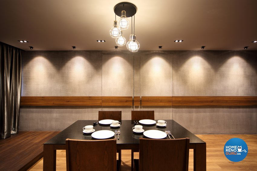Contemporary, Modern Design - Dining Room - HDB 5 Room - Design by Hue Concept Interior Design Pte Ltd