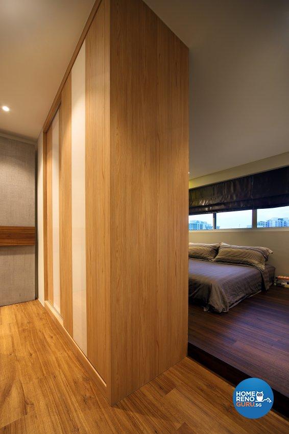 Contemporary, Modern Design - Bedroom - HDB 5 Room - Design by Hue Concept Interior Design Pte Ltd