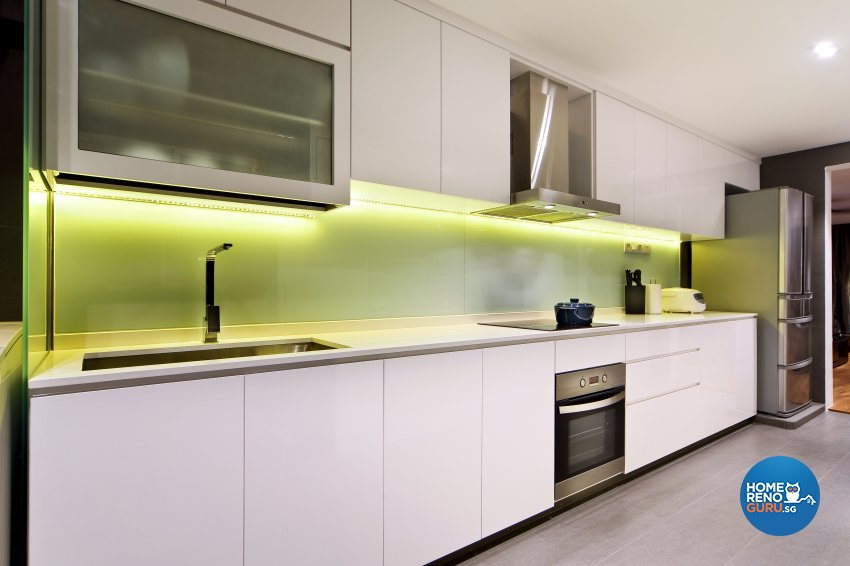 Contemporary, Modern Design - Kitchen - HDB 5 Room - Design by Hue Concept Interior Design Pte Ltd