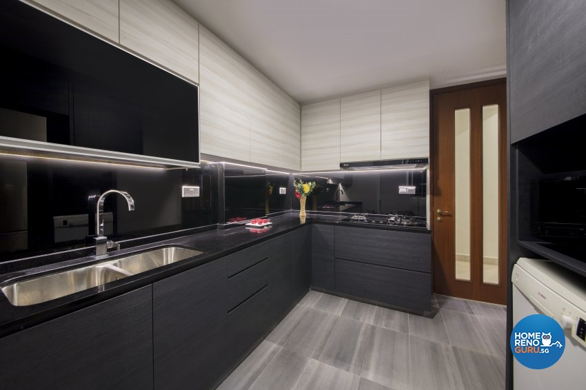 Contemporary, Modern Design - Kitchen - Condominium - Design by Hue Concept Interior Design Pte Ltd