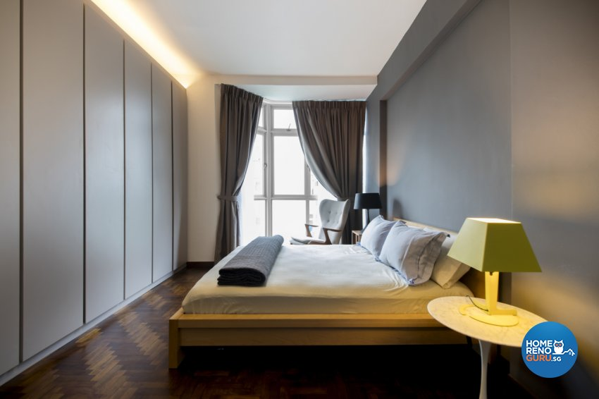 Contemporary, Modern, Scandinavian Design - Bedroom - Condominium - Design by Hue Concept Interior Design Pte Ltd