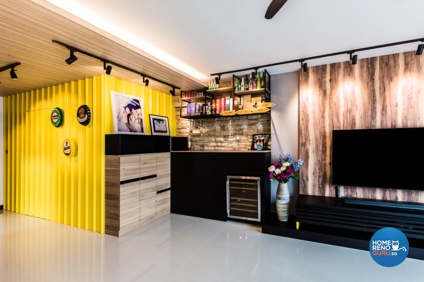 Eclectic, Industrial, Scandinavian Design - Dining Room - HDB 5 Room - Design by Hue Concept Interior Design Pte Ltd