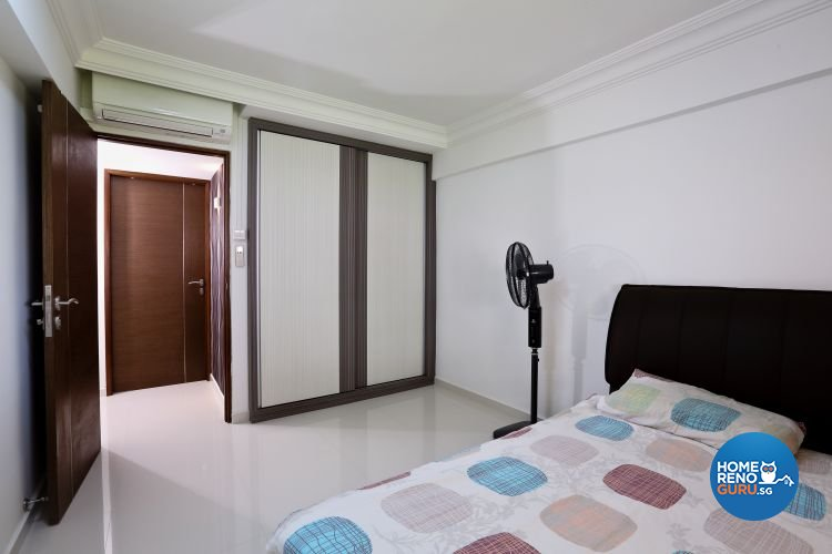 Minimalist Design - Bedroom - HDB 3 Room - Design by Hwa Li Design & Build Pte Ltd