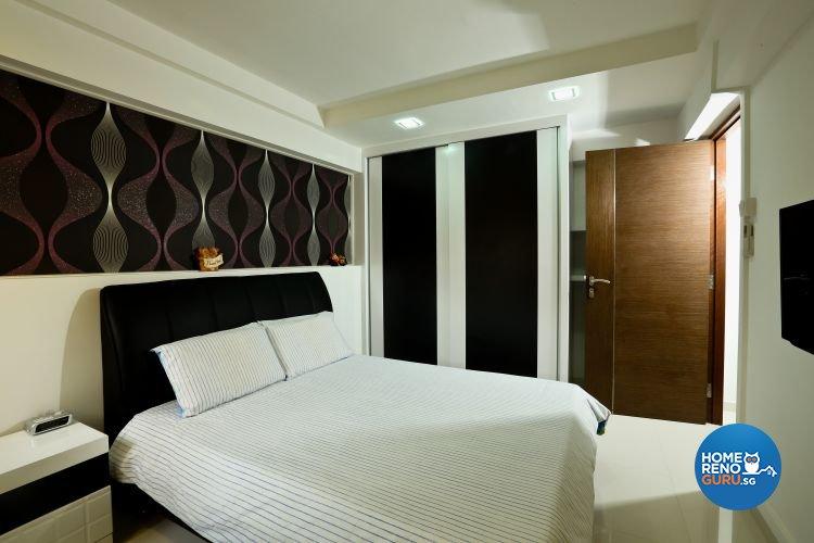 Minimalist Design - Bedroom - HDB 3 Room - Design by Hwa Li Design & Build Pte Ltd