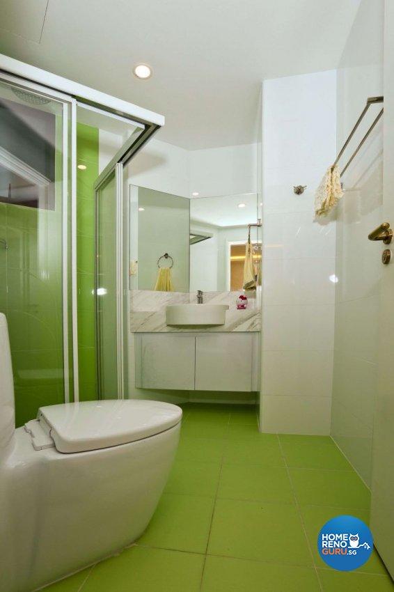 Classical, Victorian Design - Bathroom - Condominium - Design by Hwa Li Design & Build Pte Ltd