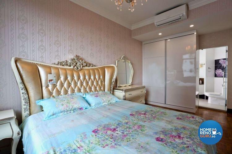 Classical, Victorian Design - Bedroom - Condominium - Design by Hwa Li Design & Build Pte Ltd