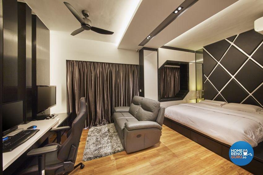 Modern Design - Bedroom - Condominium - Design by I-chapter Pte Ltd