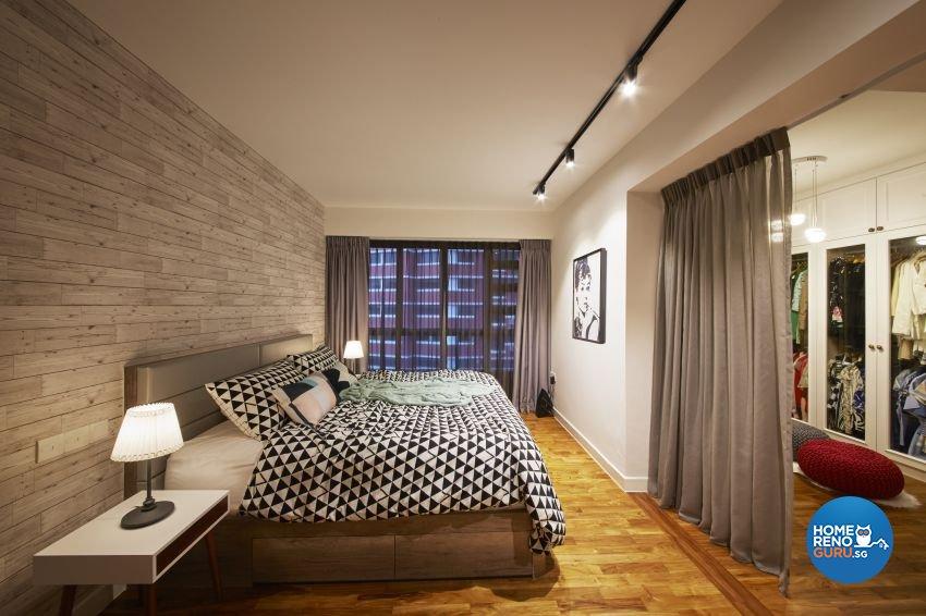 Scandinavian Design - Bedroom - HDB 4 Room - Design by I-chapter Pte Ltd