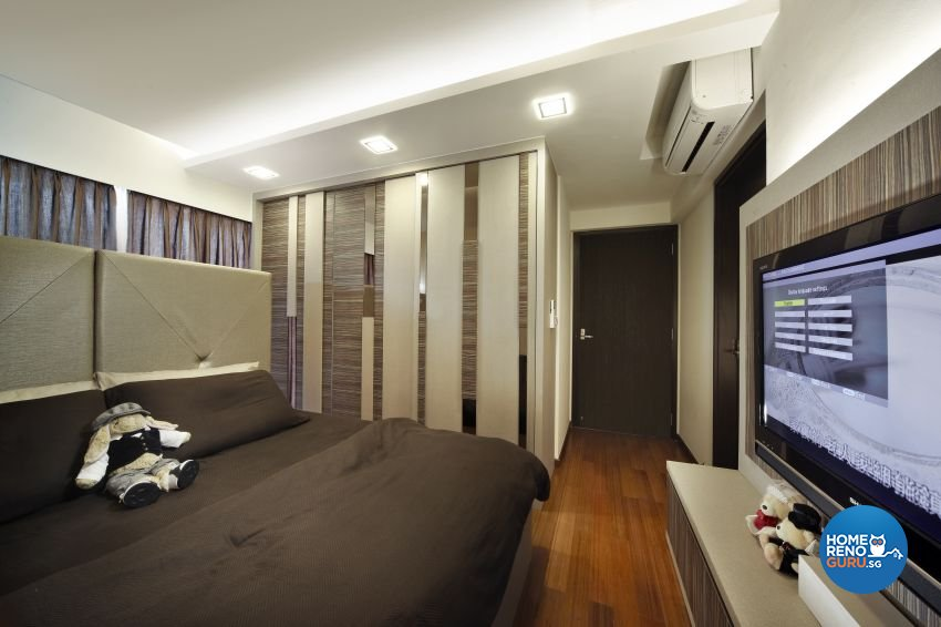 Modern, Resort Design - Bedroom - HDB 4 Room - Design by I-chapter Pte Ltd