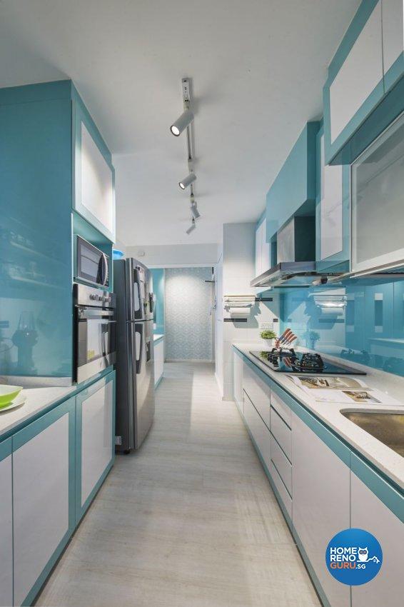 Classical, Modern Design - Kitchen - HDB 4 Room - Design by I-chapter Pte Ltd