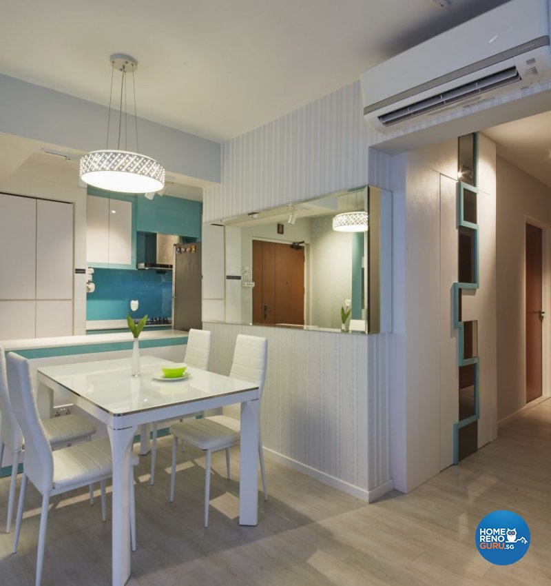 Classical, Modern Design - Dining Room - HDB 4 Room - Design by I-chapter Pte Ltd