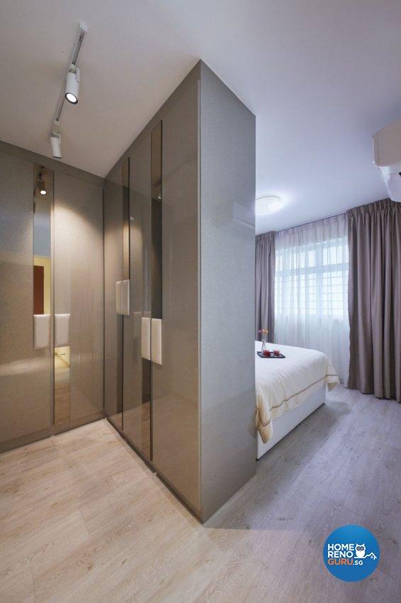Classical, Modern Design - Bedroom - HDB 4 Room - Design by I-chapter Pte Ltd