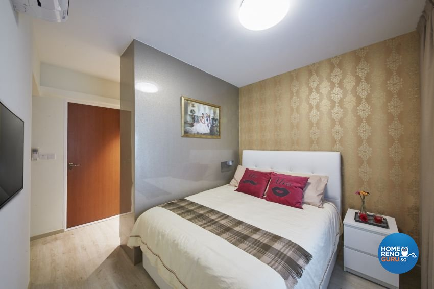 Classical, Modern Design - Bedroom - HDB 4 Room - Design by I-chapter Pte Ltd