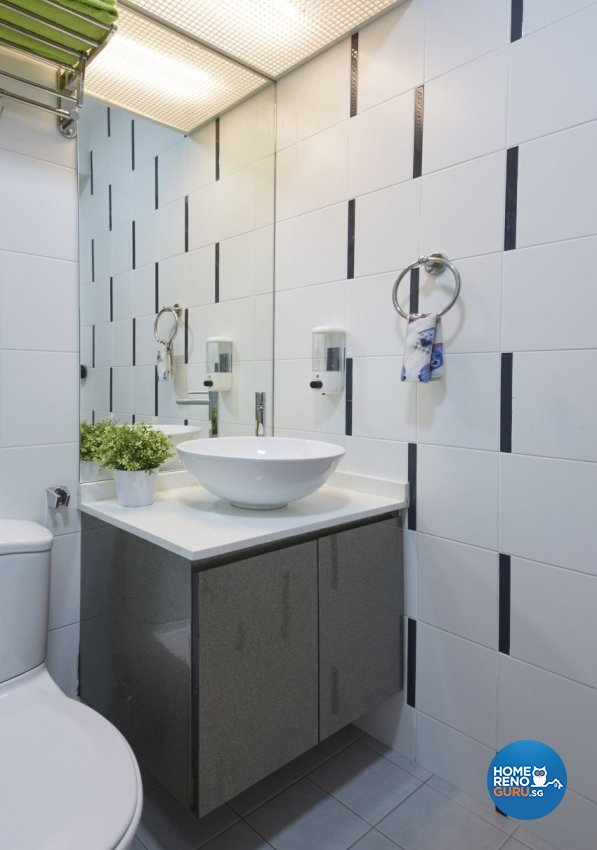 Classical, Modern Design - Bathroom - HDB 4 Room - Design by I-chapter Pte Ltd