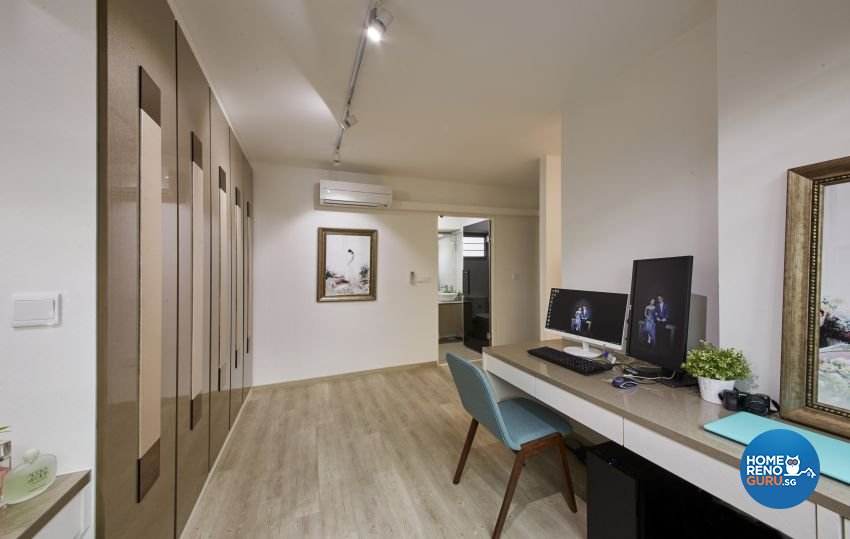 Scandinavian Design - Study Room - HDB 4 Room - Design by I-chapter Pte Ltd