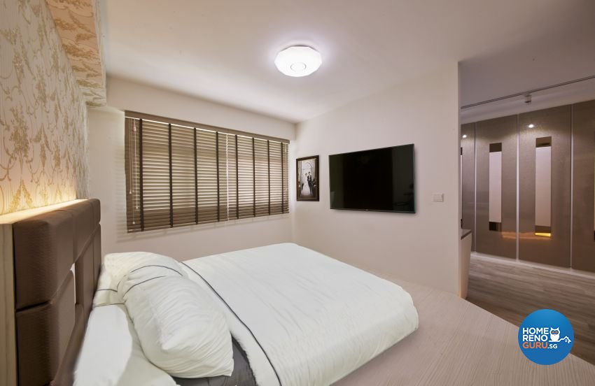 Scandinavian Design - Bedroom - HDB 4 Room - Design by I-chapter Pte Ltd