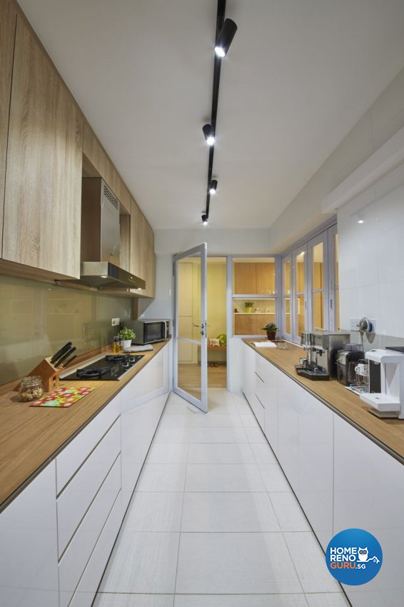 Contemporary, Scandinavian Design - Kitchen - HDB 5 Room - Design by I-chapter Pte Ltd