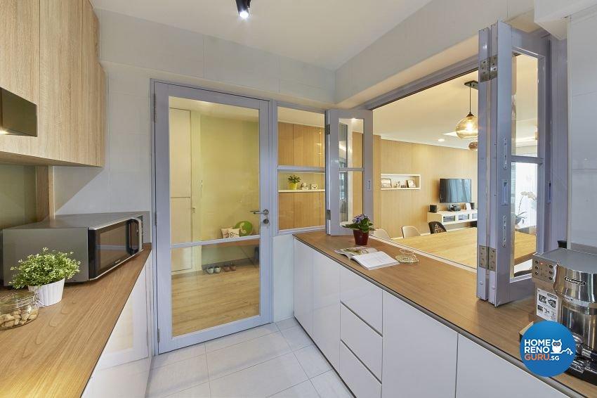 Contemporary, Scandinavian Design - Kitchen - HDB 5 Room - Design by I-chapter Pte Ltd